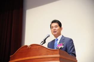 류영진 제4대 식품의약품안전처장 취임식