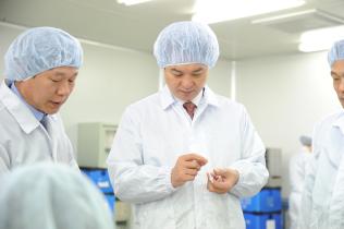 의료기기(수액세트) 제조업체 현장방문