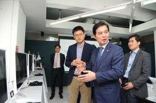 인공지능(AI) 기반 의료기기 제조업체 현장방문